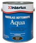 Interlux YBA549/1 Fiberglass Bottomkote Aqua Antifouling Paint (Red), 128. Fluid_Ounces