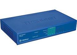 TRENDnet TPE-S44 8PORT 4 10/100TX 4 POE SWITCH AUTO MDIX LED