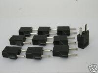 Ckitze EU-10PK European Travel Power Adapter Converter Plug, 10 Pack