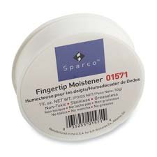 Sparco Products : Sortkwik Fingertip Moistener, Nonskid Back, 1-3/4 oz. -:- Sold as 2 Packs of - 1 - / - Total of 2 (Sparco Products Fingertip Moistener)