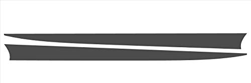 (Tower Decals Hood Spears Fits 2010-2014 Camaro Gloss Black Chevy Chevrolet Camaro Accessories)