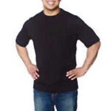 Kirkland Men 39 S Crew Neck Black T Shirts Size