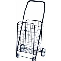 Easy Wheels® Ntc003bk Mini 4-wheel Folding Shopping Cart, Black, Holds 100 Lb (Narita Mini Shopping Cart)
