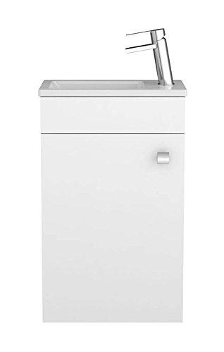 Waschtischunterschrank Gabun In Weiss Unterschrank Badmobel