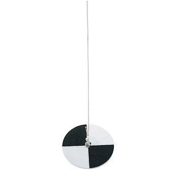 LaMotte 0171-CL Secchi Turbidity Disk, 20 m cable