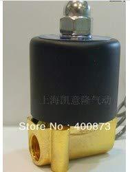 - BIN BON - Zn Alloy Parts Electric Solenoid Valve Water Air N/C 1/4