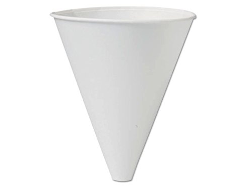 Solo Bare - 10BFC-2050 Eco-Forward Recyclable Paper Cone Funnel, 10 oz. Disposable (1 Pack (125ct))