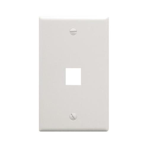(ICC FACE-1-WH IC107F01WH - 1Port Face White)