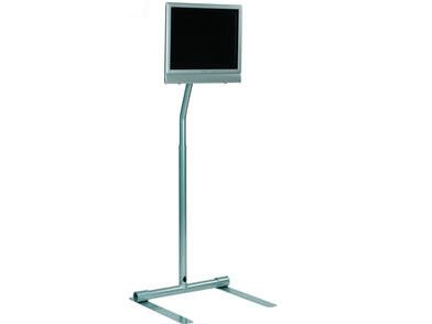 Peerless - LCFS-100S - LCD Pedestal Stand Silver