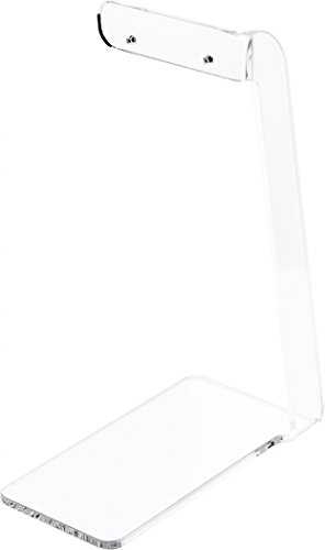Plymor Brand Clear Acrylic Signpost-style Pair Hanging Earring Display Stand, 2.375