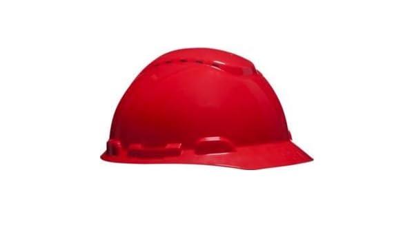 3M H700CRD - H700 Casco con ventilación, rojo, arnés estándar: Amazon.es: Bricolaje y herramientas