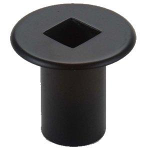 Dagan Industries Black Gas Valve Cover - 2 inch