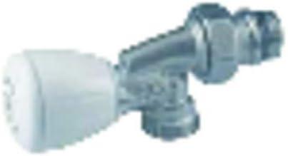 Grifer/ía gas de radiador V/álvula escuadra R421TG 3//8 Giacomini : R421X132