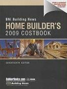 BNI Building News Home Builders Costbook 2009