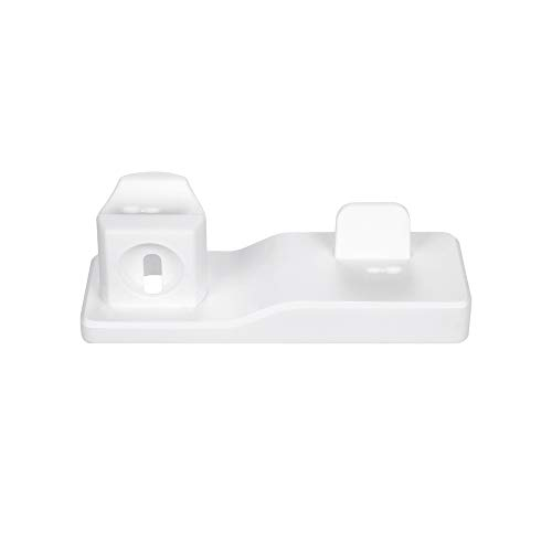 HankuCharging Stand Dock Station Holder for iPhone for Apple Watch for Airpods 3in1 (White) ()