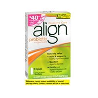 Align Digestive Care Probiotic Supplement Capsules - 42 Ea,
