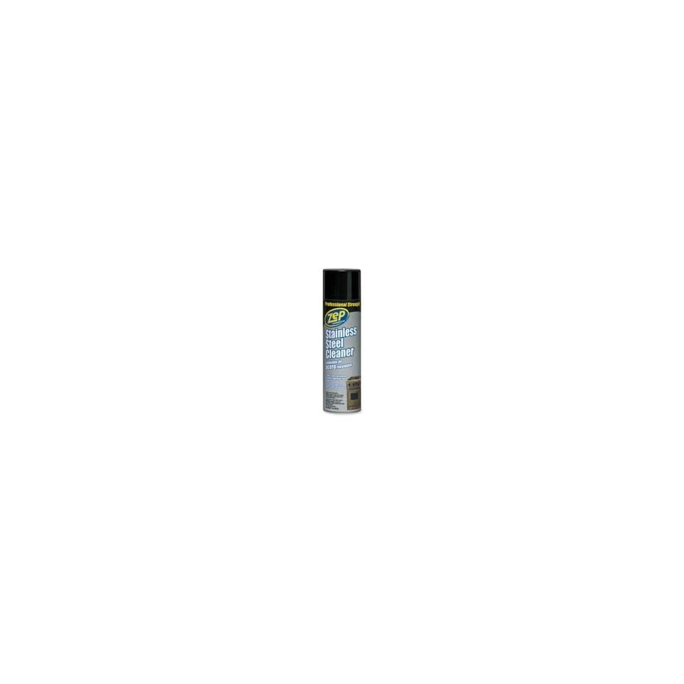 Zep Inc. Products   Stainless Steel Cleaner, Aerosol Spray, 16oz.   Sold as 1 EA   Aerosol spray cleaner is designed to clean, shine and protect stainless steel, chrome and aluminum. Use cleaner to help prevent rusting, corrosion and discoloration.