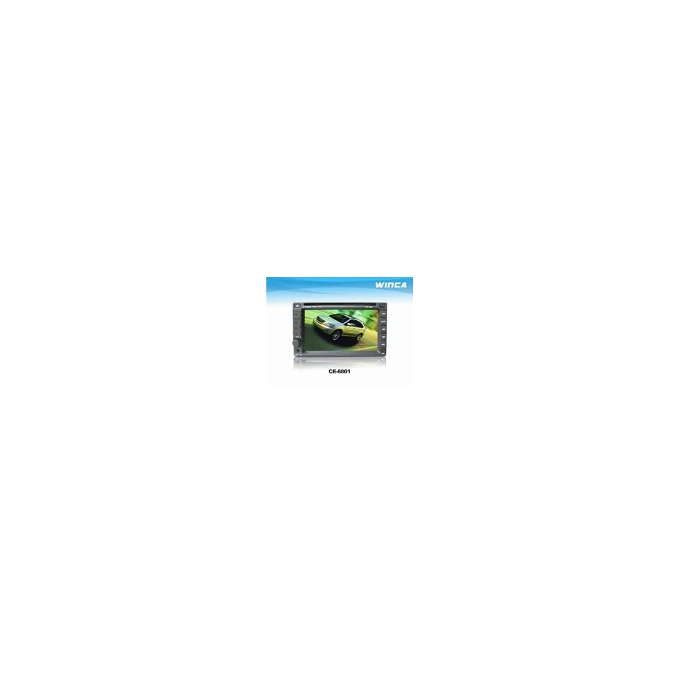Double Din Car DVD with 6.2inch LCD,with Bluetooth