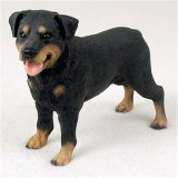 Rottweiler Original Dog Figurine (4in-5in)