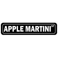 Apple Martini Gift (Apple Martini Street - Drinks - Street Sign [ Decorative Crossing Sign Wall Plaque ])