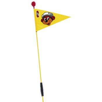 PUKY Sicherheitswimpel SW 2 für Dreiräder und Co-Carts, gelb