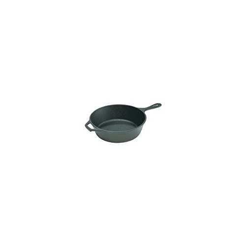 Lodge Preseasoned Cast Iron Deep Skillet, 10.25 inch - 2 per case.