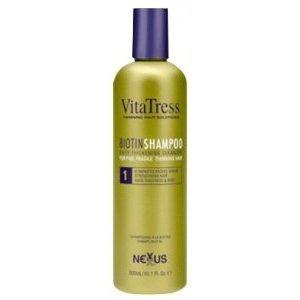 Nexxus Vitatress champú con biotina para el cabello frágil y adelgazamiento fino 10oz