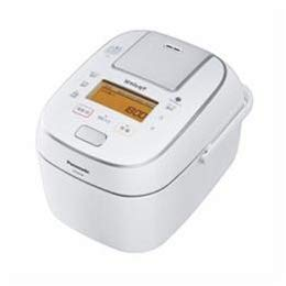 家電 キッチン家電 炊飯器 Panasonic 可変圧力IH炊飯ジャー 「Wおどり炊き」(1升) ホワイト SR-PW188-W -ak [簡易パッケージ品] B07H36T5FJ