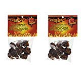 Magic Plant Dried Carolina Reaper Pepper Whole Pods, 1/4 oz. (2 Pack) (0.25 Ounce Pods)