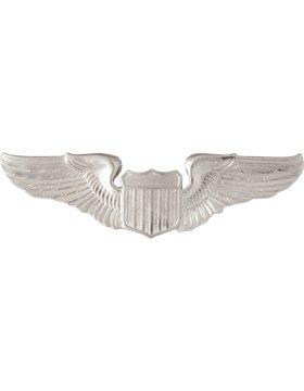 Air Force Pilot Badge - Air Force No Shine Mid Size Badge Basic Pilot