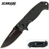 Schrade SCH001 Liner Lock Fully Honed Folding Knife