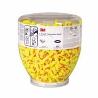 3M E-A-Rsoft Yellow Neons Blasts One Touch 91012 391-1010 Dispenser Refill, 9'' Height, 8'' Length, 9'' Width, Polyurethane, One Size, Yellow/Red (Pack of 500)