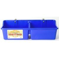 Little Giant 24-Inch Dura-Flex Hook Over Portable Feeder with Divider and Brackets, (Little Giant Bracket)