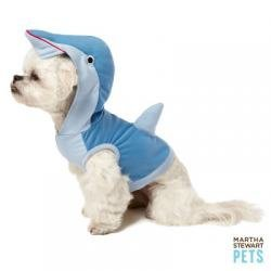 Martha Stewart Pets Dolphin Pet Hoodie~X-SMALL~