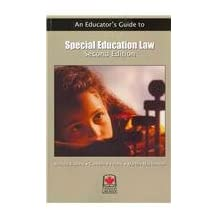 An Educator's Guide to Special Education Law