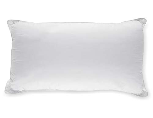 White timeless downwards elective Bed Pillows