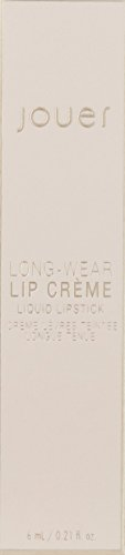 Jouer Long-wear Lip Crème, Brique-Matte Warm Brick Red, Vanilla Macaron, 0.21 fl oz