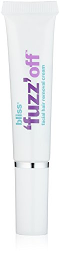bliss 'Fuzz' Off | Facial Hair Removal Cream Infused with Vitamin E & Soothing Botanical Oils | Quick, Painless One-Step Removal of Unwanted Hair | Fresh Scented | 0.5 fl. oz.