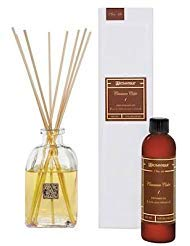 (Aromatique CINNAMON CIDER Reed Diffuser Gift Set Square Glass)