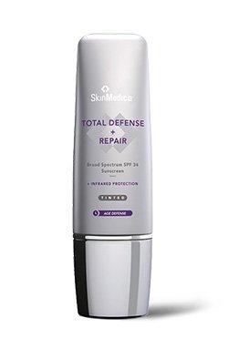 TOTAL DEFENSE + REPAIR Broad Spectrum SPF 34 Tinted Sunscreen - Net Wt. 2.3 oz/65g
