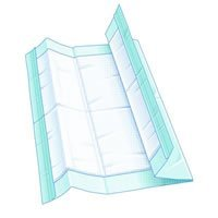HARMONIE Underpad: 36 x 36, Ultra Plus Absorbency Disposable Underpads Case of 100 by -