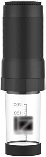 COOLSHOPY Portátil Cafetera, Manual del café Express de la máquina Compatible con café molido for la Seguridad del Viaje…