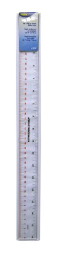 Helix Acrylic Office Ruler 18 inch / 45cm (15012) by Maped Helix USA (Image #1)