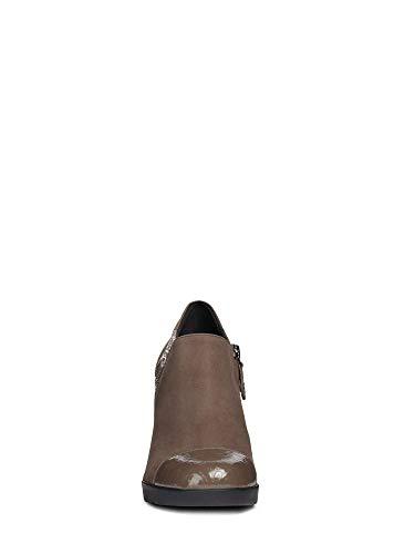 chestnut Geox Scarpe Tacco Marrone High Annya D D Con C6004 Donna 4qpSz4aw