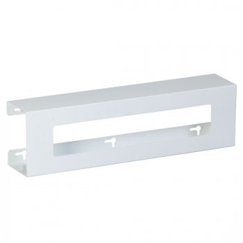 Double Slimline White Steel Glove Box Holder - CL-GW-2022