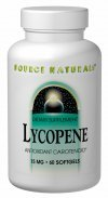 Lycopene 5mg Source Naturals, Inc. 30 Softgel by Source Naturals (Image #1)