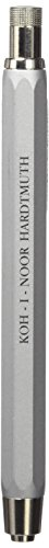 Koh-i-noor 5340 Silver All Metal Lead Holder with Built Sharpener. by Koh-I-Noor