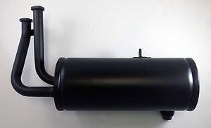 Kawasaki Mule Exhaust Muffler w/ Gaskets KAF620 18090-1912 2510 2500