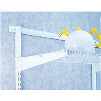 Organized Living freedomRail Bracket for Ventilated Shelves, 16-inch - White