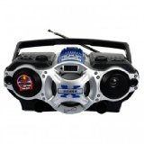 Supersonic SC1395BL Portable Boombox Speaker